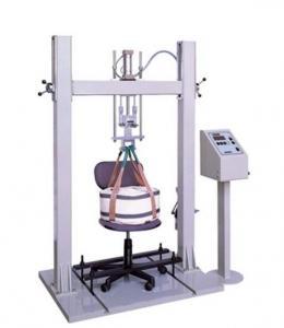 China Professional Furniture Testing Machine Chair Seating Cyclic Impact Testing Machine on sale