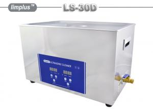 China 30 L digital Table Top Ultrasonic Cleaner For Electronic Circuit Board / Hardware Parts on sale