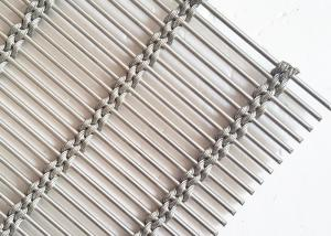China Stainless Steel Architectural Wire Mesh Facade, Decorative Cable Rope Wire Mesh on sale