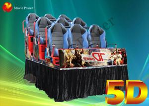 China Professional Motion / Dynamic Hydraulic Seats 5D Movie Theater 220V 2.25KW on sale
