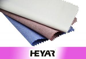 China China Textile New Stylish Non Iron Yarn Dyed Plain Color Oxford 100% Organic Cotton Woven Shirting Fabrics Wholesale on sale