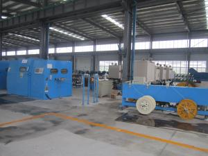 China Smaller Size Wire Bunching Machine For BVR And RVV Alloy Aluminium Wires on sale