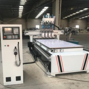 China Multi Heads Wood Carving Machine , Stable Movement Cnc Carving Machine on sale