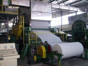 China Coating white board paper making machine on sale