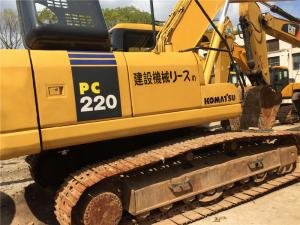 China Used Komatsu PC220-7 Crawler Excavator engine 22T weight  with Original Paint on sale