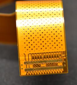 China Flexible PCB Circuit Single sided Polyimide Material Finished Copper 1OZ Polybag packing on sale
