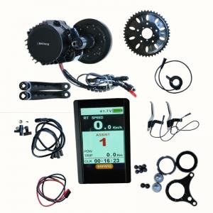 China Bafang bbs 03 / bbs hd 48v 1000w center crank mid drive motor electric bike conversion kit on sale