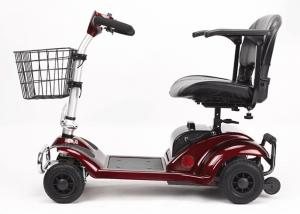 China 270W Four Wheel Scooters Elderly 4 Wheel Electric Mobility Scooter With Basket on sale