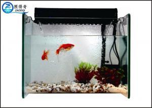 China Filter Aquarium Waterfall Fish Tank , Mini Glass Marine Fish Tank on sale