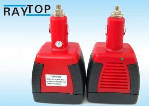 China 75W Modified Sine Wave Car Power Inverter DC 12V To AC 220v Converter + USB on sale