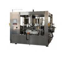 380V Cold Glue Glass Bottle Labeling Machine For Beverage / Chemical