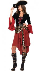 China Halloween Costumes Pirate Cosplay for Ladies Sexy Pirate Costume on sale