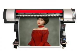 China 160Cm 4 Colors / 6 Colors Solvent Based Inkjet Printer Plotter With XP600 Head on sale