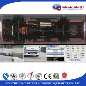 China Intel Core CPU high resolution Under Vehicle Surveillance System For Bomb Explosive on sale