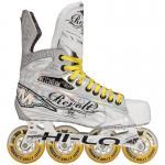Zapatos al por mayor del patinaje sobre ruedas de los patines del hockey del axioma T10 Sr.Inline de la misión