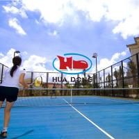 Prefabricated outdoor tennis court flooring natural rubber material
