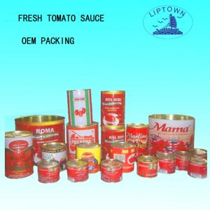 China 70g-4.5kg canned tomato paste on sale