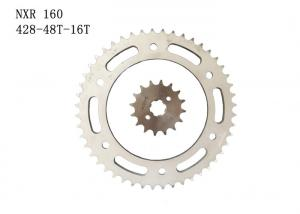 China NXR160 Motorcycle Sprocket Chain428H 48T-16T, high standard motorcycle chain sprocket kit on sale