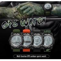China GPS Sports Smart Watch Waterproof Heart Rate Monitor ECG Altitude Temperature Compass Pedometer Multi-Sport Smartwatch on sale