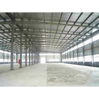 China Lightweight Steel Frame Construction / Prefabricated Metal Workshop Buildings on sale