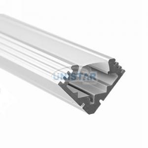 China 45-ALU series Corner Mount Aluminium LED Profile Housing For LED Strips on sale