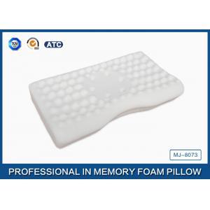 China Dormeur concave de côté d'oreiller de massage de mousse de mémoire de jade, taie d'oreiller en bambou de fibre on sale