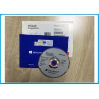 China 2 GB RAM Windows 7 Pro OEM Key Builders OEM COA License & 64 Bit DVD on sale