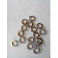 China White / Yellow Zinc Split Lock Washer , Belleville Disc Spring Washer Carbon Steel on sale