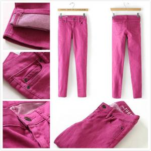 China Brand Gap women skinny jeans slim legging in rose cheap  fashion low-rise trousers Malaysia  inventory stock on sale