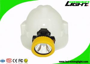 China Anti-explosive 191g Portable Cordless Mining Cap Light 4000lux IP67 Water-proof on sale