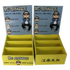 China Printed Cardboard Countertop Displays Gloss / Matte Lamination Surface on sale