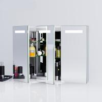 China Anti Fog LED Light Up Bathroom Mirror Cabinet IP44 / Led Bathroom Cabinet on sale