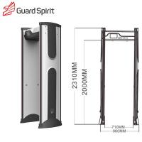 Intelligent Alarm Portable Metal Detector Archway Controller Setting Outdoor Use