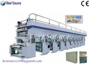 China High Speed Computer Control Rotogravure Printing Machine for OPP and BOPP printing, 180m/min on sale