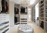 China Wooden Furniture Walk In Closet Wardrobe / Organizer With Functional Accessories wholesale