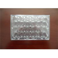 Professional Plastic Quail Egg Trays , Clear Plastic Egg Cartons With Holes
