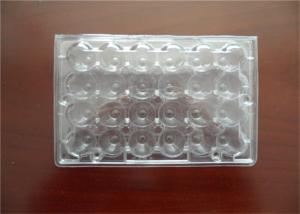 China Professional Plastic Quail Egg Trays , Clear Plastic Egg Cartons With Holes on sale
