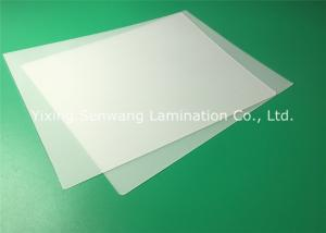 China Protective Thermal Lamination Film , Letter Size 5 Mil Laminating Film on sale