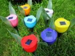 China Solar Tulips Flower Lights wholesale
