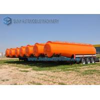 High Capacity International Goose Neck Oil Tank Trailer 45000L 3 Axle