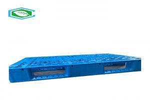 China Grid Reusable Reinforced Rackable Plastic Pallet Hdpe Pallet For Transportation Logistics Or Warehouse on sale
