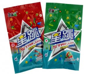 China Star Shape Lollipop Popping Candy Lollypop Jump Candies Assorted Fruit Flavor on sale