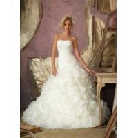 China China Wedding Dress /2014 Organza Bridal Wedding Gown on sale