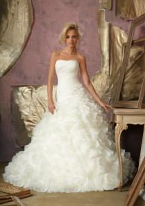 China China Wedding Dress /2014 Organza Bridal Wedding Gown on sale