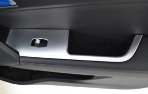 China Hyundai IX25 2014 Auto Interior Trim Parts , ABS Chrome Handrest Cover on sale