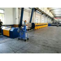 China High Efficiency Welding Wire Drawing Machine , 10m / S Speed Wire Manufacturing Machine on sale