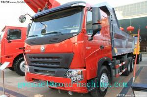 China Promo HOWO A7 Heavy Duty Dump Truck  6x4 EURO II 336HP Energy-Saving on sale