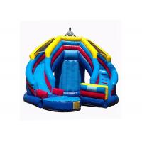 Versatile Kids Inflatable Jumping Castle , Inflatable Toy Castle Combo Bounce House