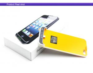 China power bank cover case external backup battery 2200mAh for iphone5 smartphone Apple on sale
