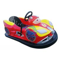 Attractive Battery Powered Bumper Cars Ride , Customized Amusement Bumper Cars